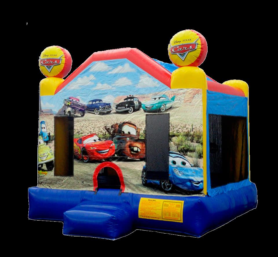 Cars Theme Bounce House